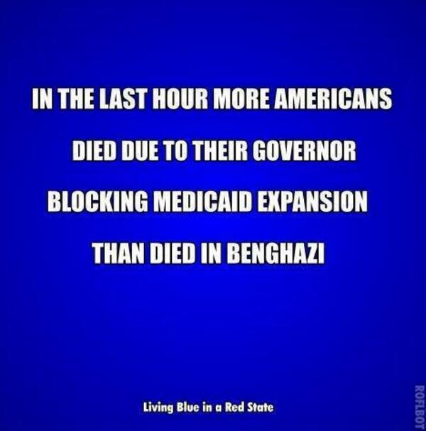 Dear GOP: Want to investigate a tragic loss of life? Try this one. #Obamacare #Benghazi #GOPGovsGottaGo #GOPfail http://t.co/xMoFh3moJX