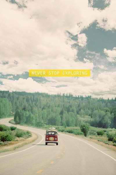 We love this, too! RT @theplanetd: Never stop exploring! Absolutely love this amazing #travel inspiration! http://t.co/WqjOBCHqdQ