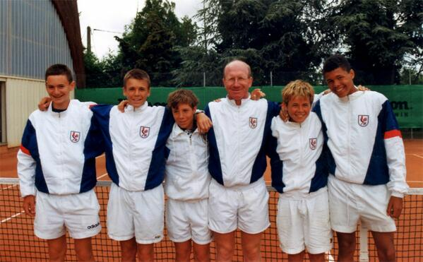 #TBT 1999 @FFTennis 14&U boys' Summer Cups team, featuring @richardgasquet1 & @tsonga7 http://t.co/q27z21vz2x