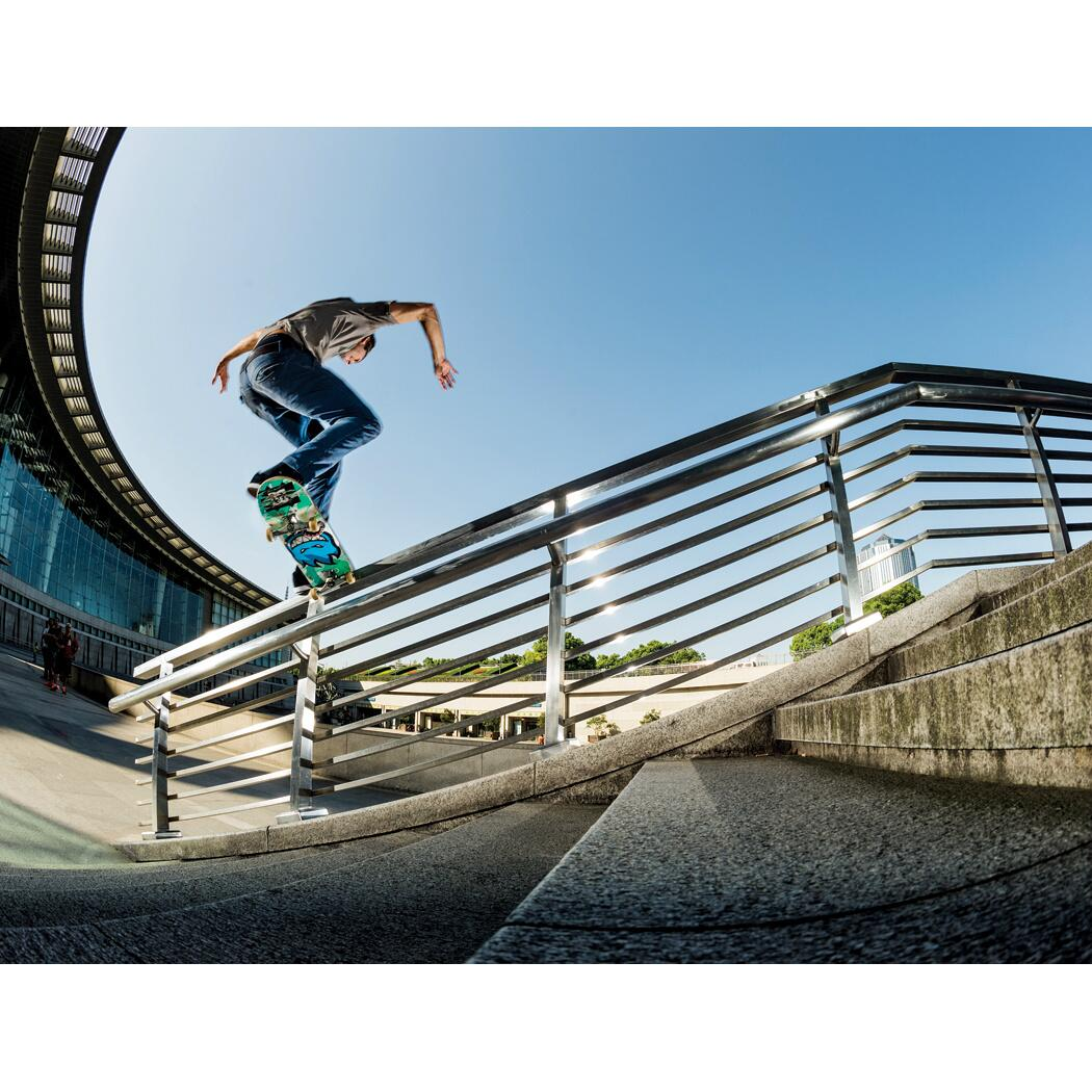 RT @dcshoes: @Mikey_Tay1or stands up on a stylish frontside noseslide in China. Photo by Blabac. http://t.co/zOcjzA1LAW