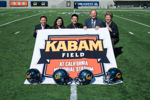 Kabam and @CalAthletics are proud to present the new logo for Kabam Field at California Memorial Stadium! http://t.co/0vdwEJKWrA