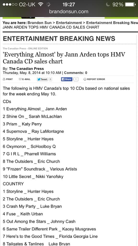 @jannarden well done luv!! 'Well thank God she could sing' Joan Richards http://t.co/CeUlWAooWt