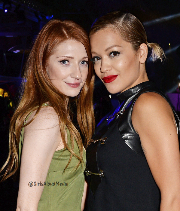 "*New Pic* @NicolaRoberts and @RitaOra inside ""Gabrielle's Gala"" fundraiser last night http://t.co/PtEfr86jrW"