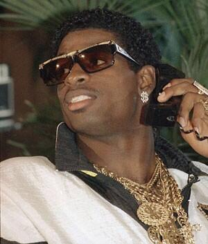 For the record, don't think anyone can touch @DeionSanders draft day swag. #draftday #NFLDraft2014 http://t.co/RZCtUPHO2d