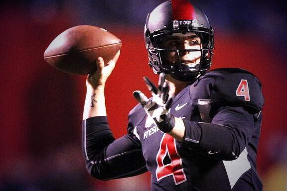 Whenever @derekcarrqb gets drafted, a NFL team will be getting a great leader & franchise QB! #GoDogs http://t.co/dzkcR6Iw6I