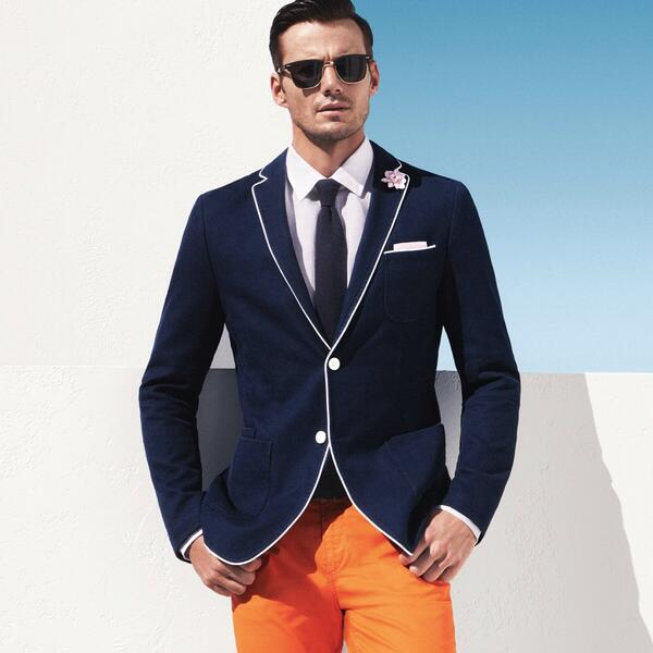 Classic styles in bold hues #BOSS http://t.co/31D9P1JEwb