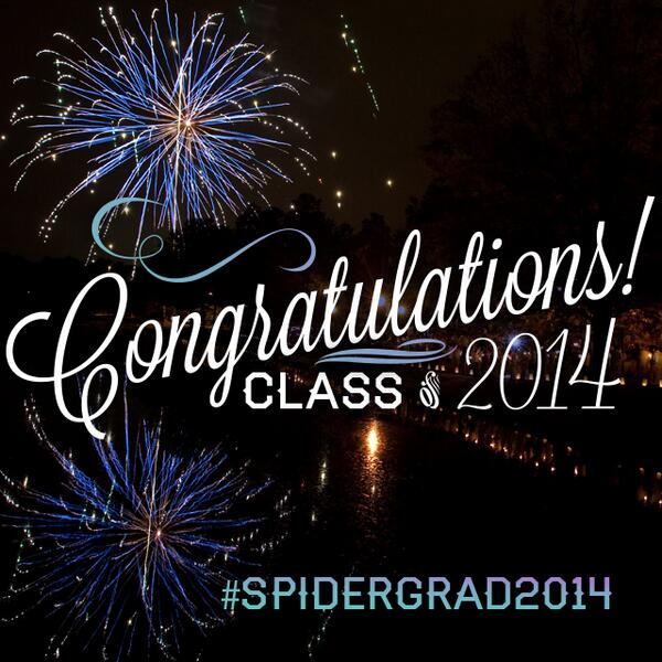 Oh, what a weekend this will be! #spidergrad2014 #richmond2014 #spiderpride http://t.co/PL5zVOK8Tm