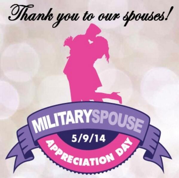 Happy Military Spouse Appreciation Day! http://t.co/lAt8WUeHcx