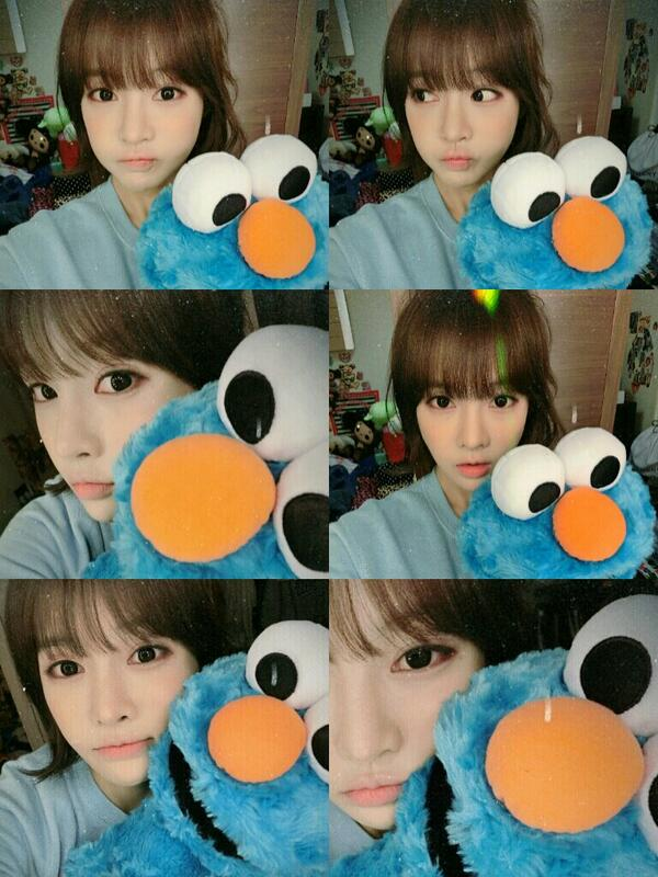 I ♡ Sesame Street. 짱짱맨--------♥ http://t.co/eefxD4j81E
