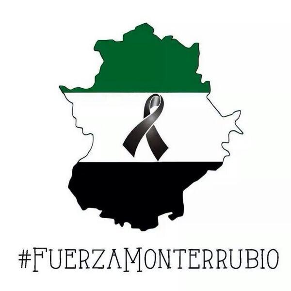 Todos estamos con vosotros #FuerzaMonterrubio http://t.co/rzKmLflVi4