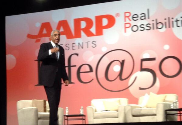"@AARP Executive Director ""Most ppl turning 50 today can expect to live 30 more years."" #LifeAt50 #Boomers http://t.co/8moaip3bfj"