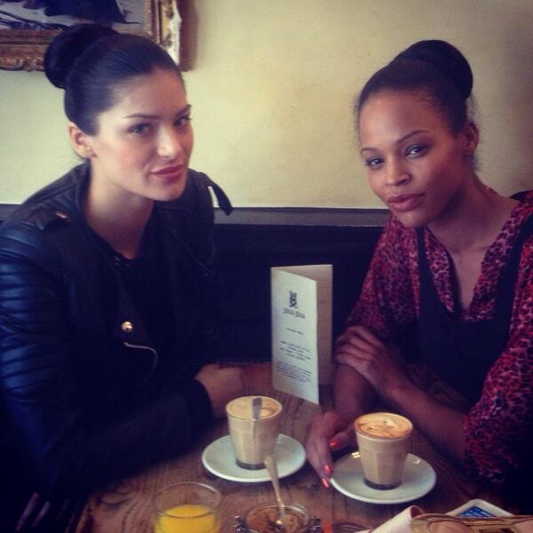 Coffee between shows. With @rudiemccree #bathinfashion #models #show #fashion http://t.co/BtY3xAbWW3