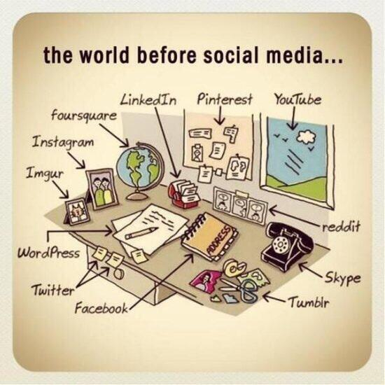 The world before social media. http://t.co/HSo9s4lXYz