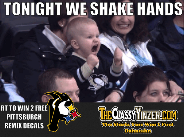 #LETSGOPENS #ClassyYinzer RT to win 2 free Pittsburgh Remix Decals #TonightWeShakeHands http://t.co/Vp9XJembod http://t.co/xUAMjAPdnX