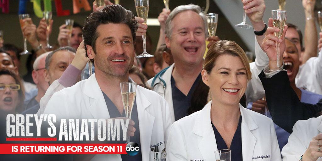 RT @GreysABC: Is there a doctor in the house? There will be several when #GreysAnatomy returns with an all NEW season this fall! http://t.c?