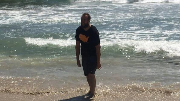 Congrats to Jason King on completing his cross-country run raising #bitcoin for charity. #BitcoinAcrossAmerica http://t.co/paqhJ7XoXy