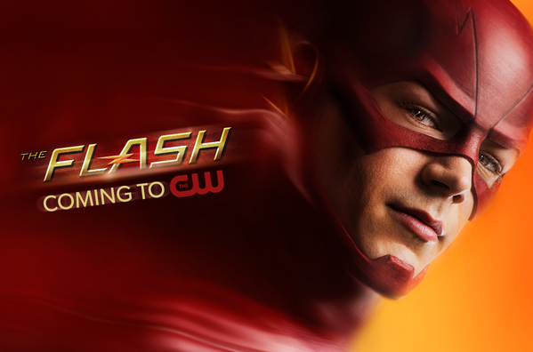 """@CW_TheFlash: #Arrow isn't the only superhero on @CW_network anymore! #TheFlash is coming! http://t.co/YTXeeTZrb6"" WORD, @grantgust!!"