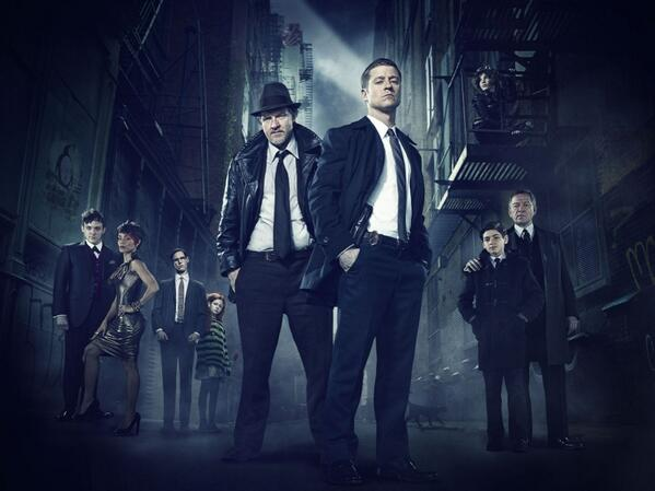 First official image of #gotham ... http://t.co/zyt2NVMc8y