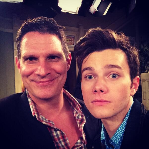 Live tweeting #Grimm while taping #hotincleveland with the wonderfully funny @chriscolfer @NBCGrimm @hotnclevelandtv http://t.co/esKMuNU1zz