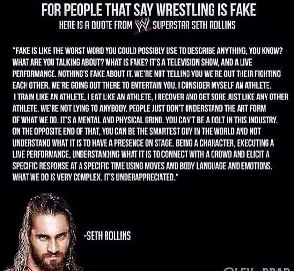 Wise words from @WWERollins http://t.co/IhCfLMQnZw