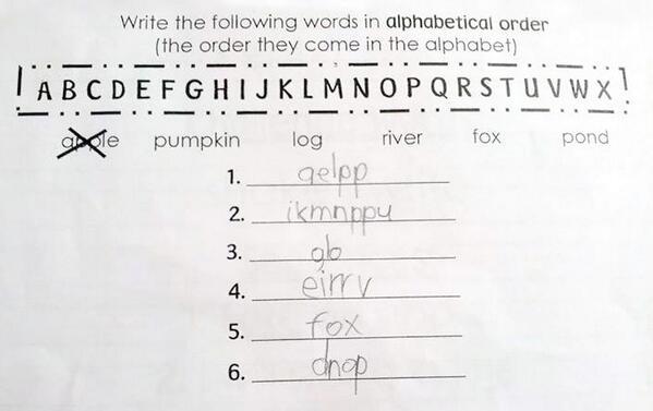 RT @CFudgemuffin: This kid is a genius... http://t.co/cCFmPoJWDu