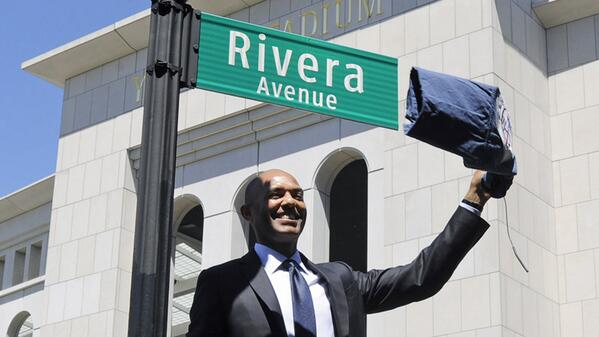 To all the fans and community leaders who helped and turned out for the Rivera Avenue ceremony, you are appreciated! http://t.co/auTtVYlGYO