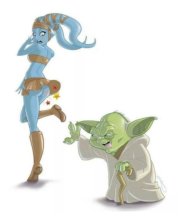 RT @auroreborealedu: Petit père vert !!! #Yoda from #StarWars http://t.co/xZPlJJ1loK