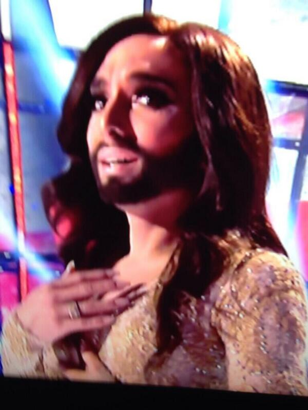 Is this Cheryl Cole auditioning for Jesus Christ Superstar?? #eurovision http://t.co/AsgxtTlTUa
