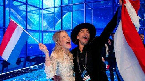 Veel succes @waylonline en @IlseDeLange! #eurovision #Esf14 #esc14 http://t.co/HtRBotNUnW