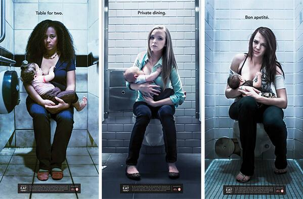 Two art students are taking a stand to educate the world about public #breastfeeding: http://t.co/yAbxtCwmnI http://t.co/GJ5wm9s1p9
