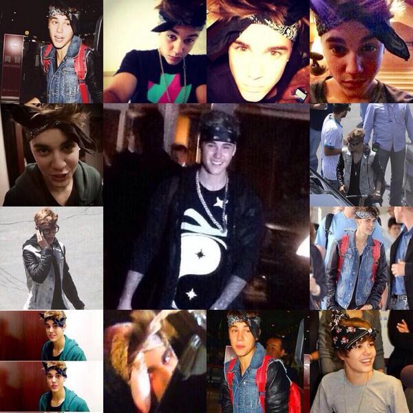 Justin Bieber in a bandana appreciation tweet http://t.co/Uuu3qhZzJp
