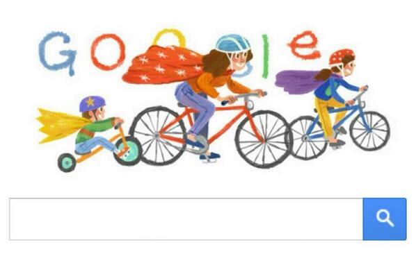 Google saluda a las Madres en su día con un Doodle, como debe ser: http://t.co/uj6Kypw2f6