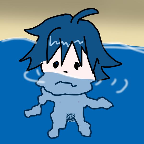 こうですかわかりません なんかまちがえましたRT @nrnrnnn: @yonabe_kun_bot 海辺で黄昏る真波山岳って頼めますか http://t.co/Yr0FQCNjHU