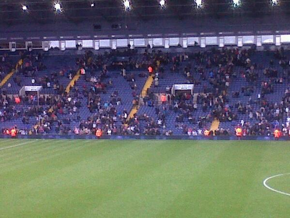 Not many fans staying for wba's lap of appreciation http://t.co/KJ0a0QXbDK