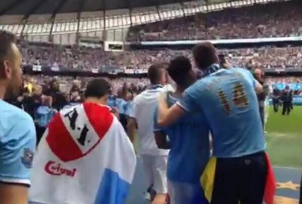@Independiente saluda a @aguerosergiokun por el nuevo título conseguido. ¡Felicitaciones, crack! http://t.co/3OI12CFgdK