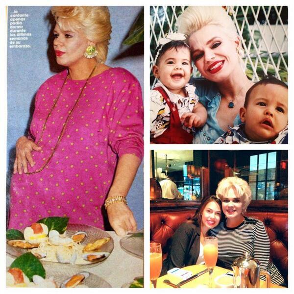 Feliz día de las madres a esta súpermama @CharytinOficial ...te amo mami! http://t.co/BtlzUuSzzv