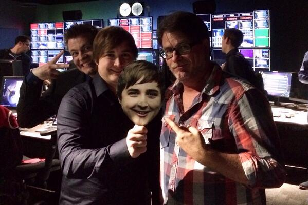 Uh-oh. It's Double @SkumbagKrepo and a photobombing @RiotQuickshot. #allstar http://t.co/z8rDBr38Lm