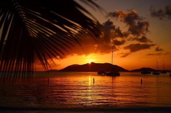 Sunset Cane Garden Bay, Tortola #bvi #caribbean #travel #sailing http://t.co/VbrvnVNZmw RT @OldMangoCompany