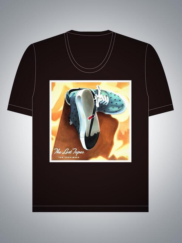 """今週土曜日のライブでニューアルバム""""lost tape""""のCDを初めて発売します! そしてT shirtも少し発売します!! http://t.co/jhbJL4LqCH"""