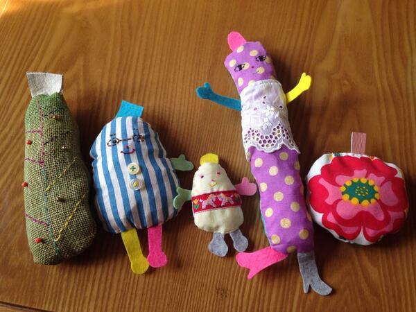 人形なんぞを作ってみました。これからもうひと手間〜