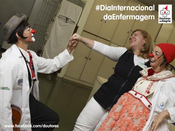 Homenagem às enfermeiras e aos enfermeiros que cuidam da gente como se fôssemos de casa #DiaInternacionaldaEnfermagem http://t.co/joI0eltfCp