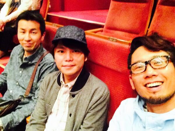 こいつらと横須賀でUNICORN観て来た!民生さん誕生日おめでとうございます!! http://t.co/bt7UgNOlAM