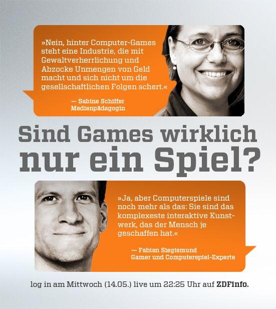 ZDFlogin (@ZDFlogin): Fabian @Siegismund + Sabine Schiffer (Medienpädagogin) sind Mi. zu Gast bei #ZDFlogin: