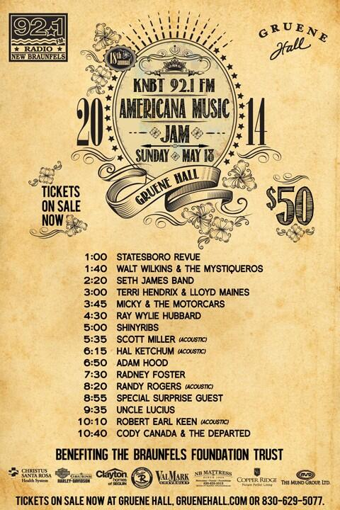 IT'S JAM WEEK! Here are the set times for this Sunday - hope to see you there! #AMJ18 http://t.co/HRTGqmoZW0