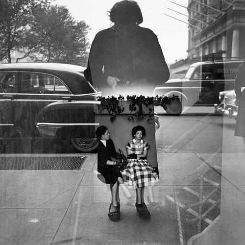 RT @formatfestival: Brilliant self portrait by the enigmatic #vivianmaier http://t.co/EQJcn5SNaR