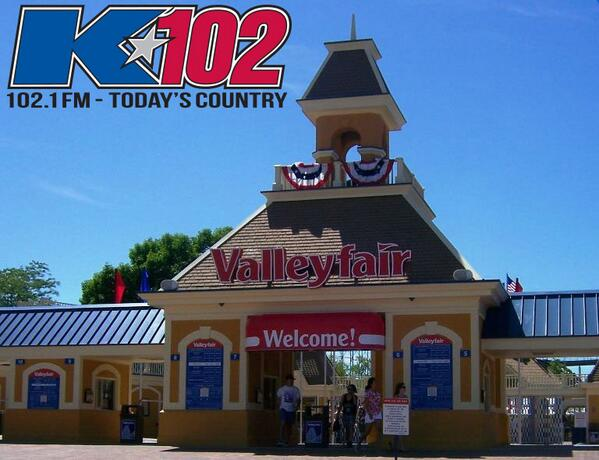 DAY2: RT this for your chance to win a pair of @Valleyfair_MN passes! Valleyfair opens this Friday at 10am! #VFK102 http://t.co/Y2UjKBFWdl
