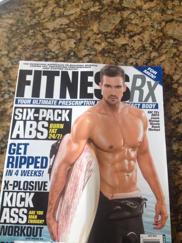 Great job @jamesmaslow & @ErictheTrainer on the new @FitnessRXforMen cover great work fellas!!! http://t.co/75eRI8pHRc