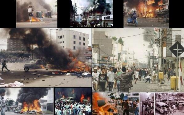 Hari ini genap 16 tahun Tragedi kerusuhan Mei 1998, suatu catatan hitam kelam sejarah Indonesia #GMHR #MenolakLupa http://t.co/LLUCZQMqvY