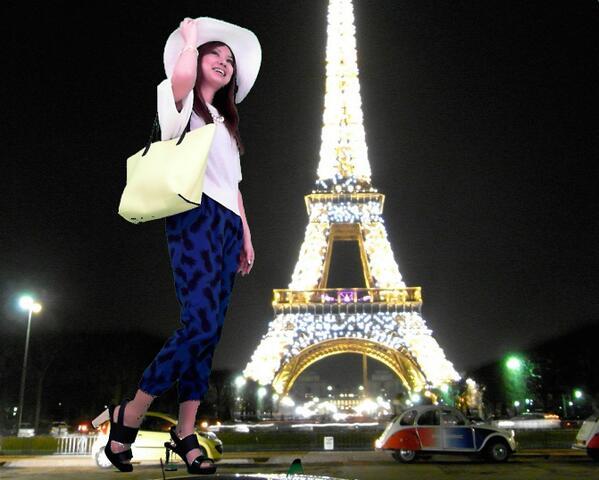 なんかGUのアカウントが、海外お散歩スタイルと称して写真シェアしまくってるけれど、合成1.0みたいな写真になっているのだが。http://t.co/nOUpVrXbEl