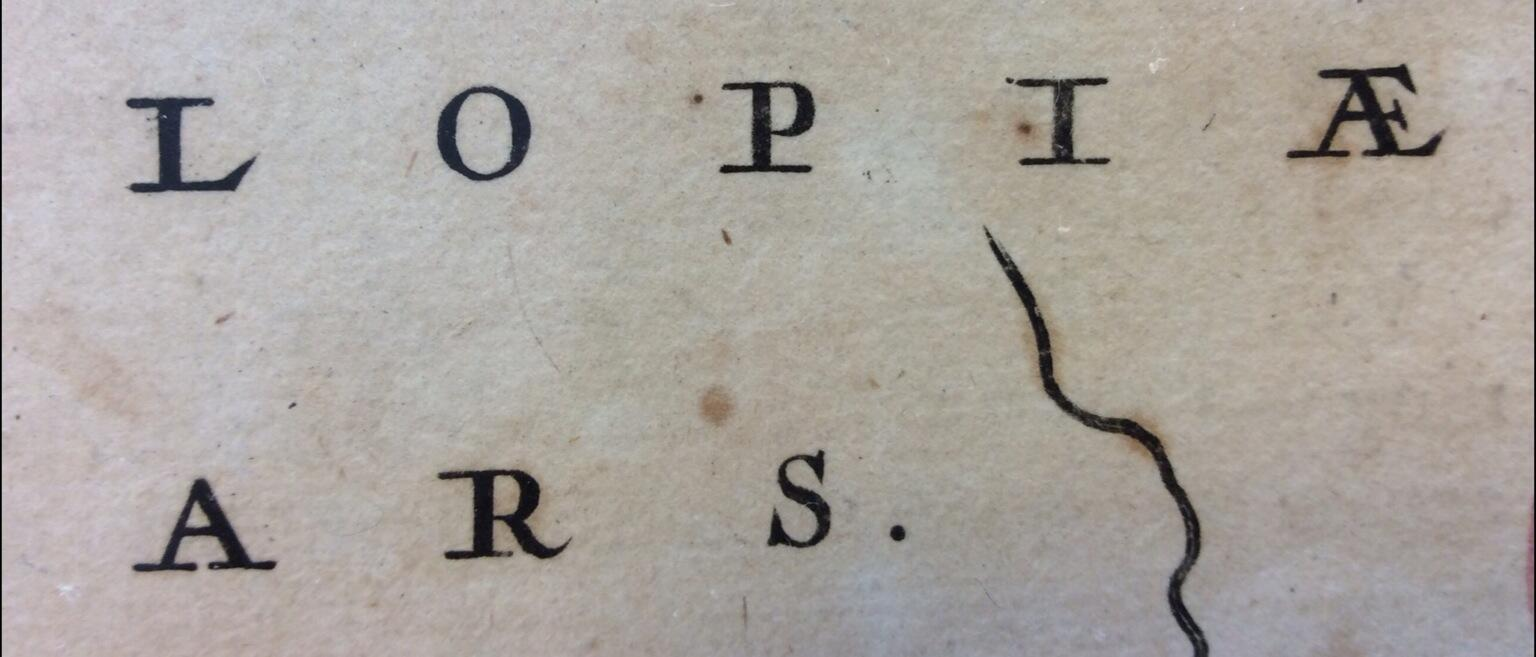RT @TiroTypeworks: You think you've got serifs? You don't have serifs. 17th Century map makers? They had serifs. http://t.co/DBfi9wi8Va